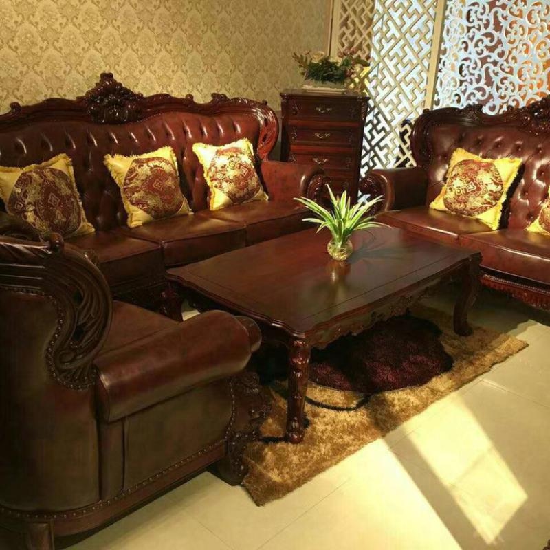 欧式红木五件套沙发